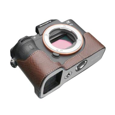 Gariz Leather Case XS-CHA7IIBR Brown for Sony A7 II jpckemang