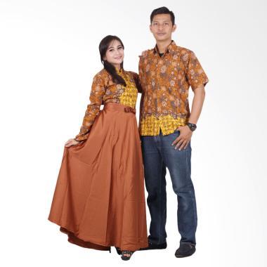 Jual Baju Gamis Batik Couple Online - Harga Baru Termurah Maret 2019 ... 6e56b8ddcd