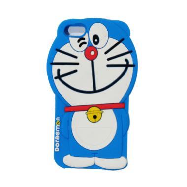 VR Silicon 3D Karakter Doraemon Edi ... one 5/5G/5S/5SE/5C - Blue