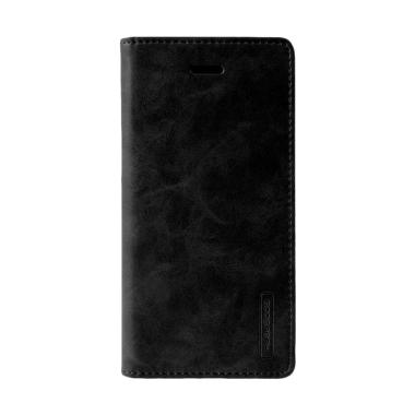 Goospery Mercury Bluemoon Flip Cover Casing for Xiaomi Redmi Note 3 - Hitam