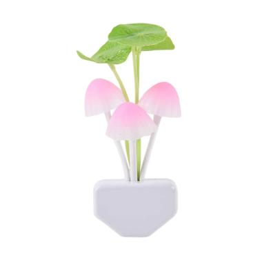VR Lampu Tidur Avatar Magic Jamur M ... aya LED Night Lamp - Pink