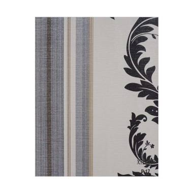 Java Wallpaper XTE3033 QUEEN Motif  ... asi Dinding - Hitam Putih