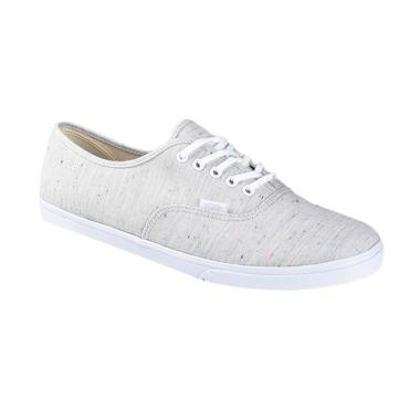 Vans U Authentic Lo PRO Speckle Jersey Sneaker Shoes - Gray True White