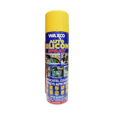 Waxco Auto Silicon Spray - Cairan P ... lt Mobil & Motor [550 mL]