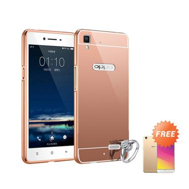 Tempered Glass Oppo A39 Titan Premium Tempered Glass 25d Clear Source · Elshadai Bumper Mirror Casing