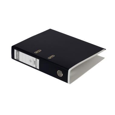 Bantex #1465V2507 Lever Arch Plastic Two Tone Folio Anthracite Ordner Files  - Grey White [ 7 cm]