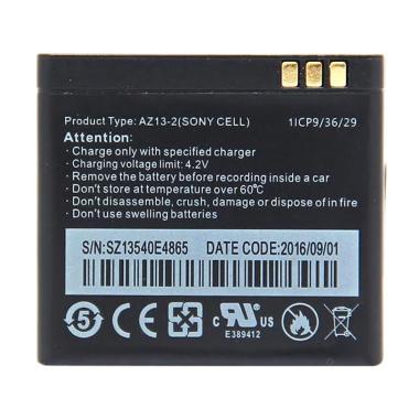 Satoo AZ13-2 Sony Cell Battery Acti ... i Internasional [990 mAh]