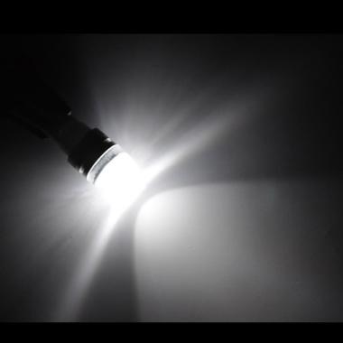 JMS S25 1156 BA15S 3W COB Concave Lens Strobe Flashing Lampu LED Strobo Mobil Dan Motor - White [1 Pair/2 Pcs]