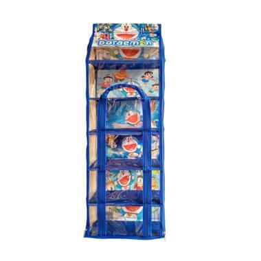 Orange Collections Doraemon Hanging Multifunction Rack Zipper 5 Sap