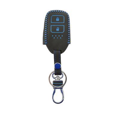SIV 2 Tombol Premium Leather Sarung Kunci Mobil For Honda HR V Dan JAZZ