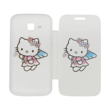 QCF Flip Cover Gambar Hello Kitty C ...  / Leather Case - Motif 1