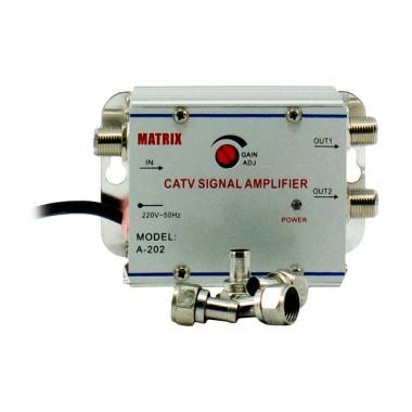 PF DX W9900 Penguat Sinyal Antena TV. Rp 289.500 Rp 389.500 25% OFF. (1) · Matrix Amplifier Booster ...