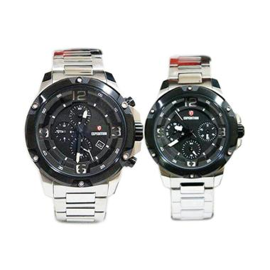 Expedition Couple Edition Chronogra ... ilver [D46H2121E6698MSLV]