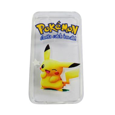 VR UltraThin Softcase Casing Pokemo ... iPhone 4G or 4S - Versi 5