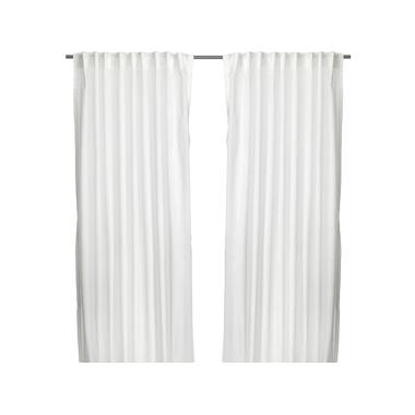 IKEA (R) Vivan Curtain Set Gordain - Putih [145x250 cm/2 pcs]
