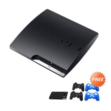 Sony Playstation 3 Slim CFW Game Co ... ] + Free 120 Games + HDMI