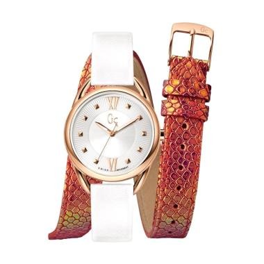 Guess Collection Gc Twist Y13003L1  ...  Wanita - White Rose Gold