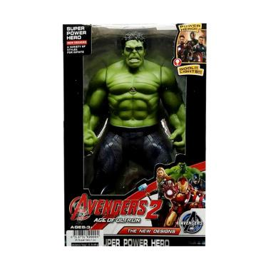 harga Momo Avengers 2 The New Designs Super Power Hero Karakter Hulk Action Figures - Hijau Blibli.com