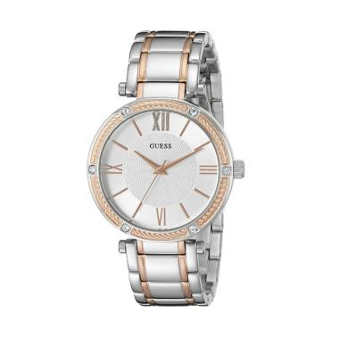 GUESS W0636L1 Park Ave Guess Watch  ... Wanita - Silver Rose Gold