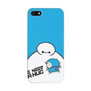 Indocustomcase Baymax Doraemon Cove ...  for Apple iPhone 5/5S/SE