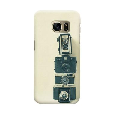Indocustomcase Camera Colection Cover Casing for Samsung Galaxy S6 Edge