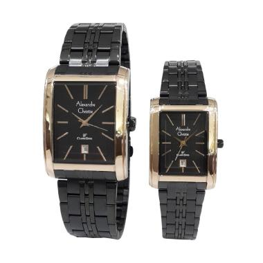 Alexandre Christie 8408LMDBBRBA Cla ...  Couple - Black Rose Gold