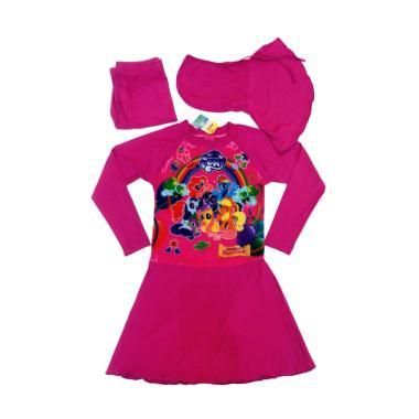 Alya Collection SD Little Pony Pela ... Baju Renang Muslimah Anak