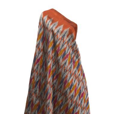 Tenun Sengkang IND-1212 Kain Tenun  ... gis Makassar - Multicolor