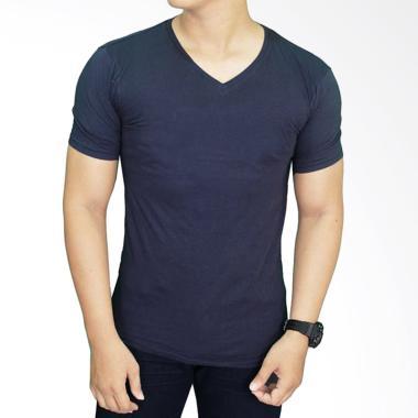 Gudang Fashion FP 522 T-Shirt Polos ... ek Spandex Spandek - Grey