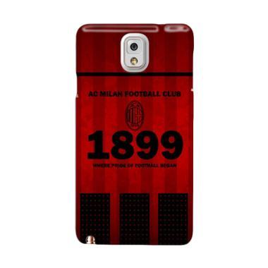 Indocustomcase AC Milan FC Custom H ... msung Galaxy Note 3 N9000