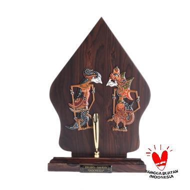 Wonosari Art Gunungan Wayang Double ... a Pen Holder [18 x 29 cm]