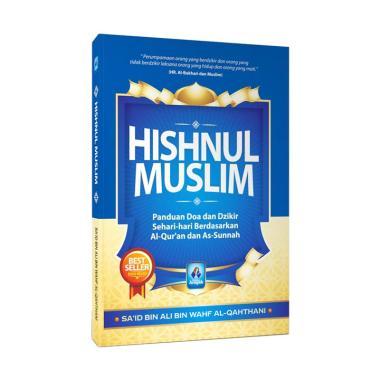 Pustaka Arafah Hisnul Muslim Saku by Sa'id bin Ali bin Wahf Al Qahthani Buku Religi Blue
