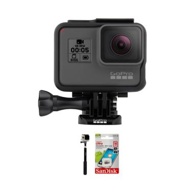 GoPro HERO 5 Black 4K Ultra HD LCD  ... 2 MP/Combo Supreme 16 GB]