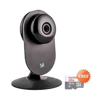 Xiaomi Yi CCTV Home IP Camera with  ... disk Micro SD Ultra 16 GB