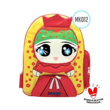 Uliandra Muslim Kids Karakter Straw ... Backpack Tas Sekolah Anak