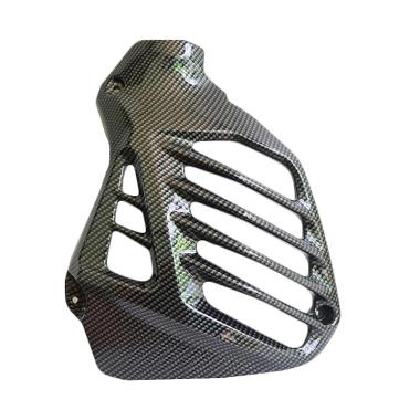 harga Aromaniez Aksesoris Motor Cover Radiator untuk Yamaha Nmax - Carbon [TRD3093-Carbon] Blibli.com