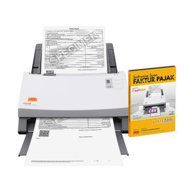 Plustek PS406U Scanner Faktur Pajak ... r Pajak [40 Lembar/Menit]