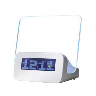 Sagadiju LED Digital Alarm Clock with Memo Board