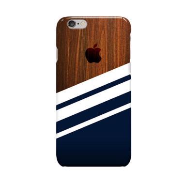 Indocustomcase Wooden Navy Casing f ...  6 Plus or iPhone 6S Plus