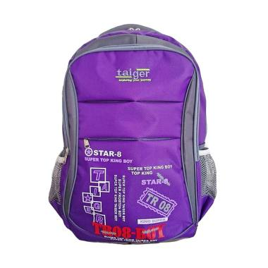 Bag & Stuff Taiger Star-8 Laptop Ba ...  + Pelindung Hujan - Ungu