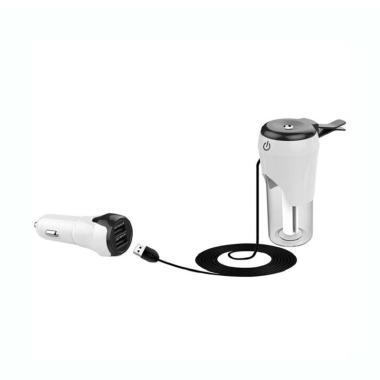 TOKUNIKU BC20 ABS Dual USB Ports Ch ...  Humidifier - White Black
