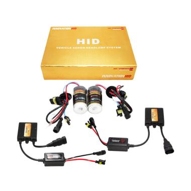Innovation HID HIR2-9012 HI-Vision Series Single Bulb Xenon Bohlam Lampu Modifikasi [6000K]