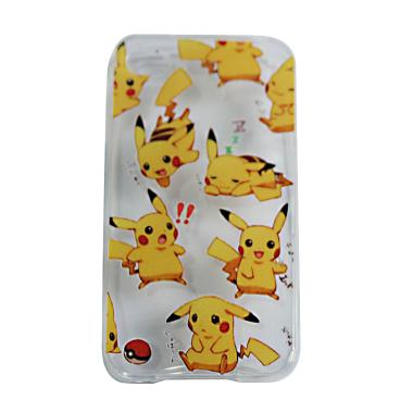 VR UltraThin Silicone Pokemon Editi ... iPhone 5G/5S/SE - Versi 4