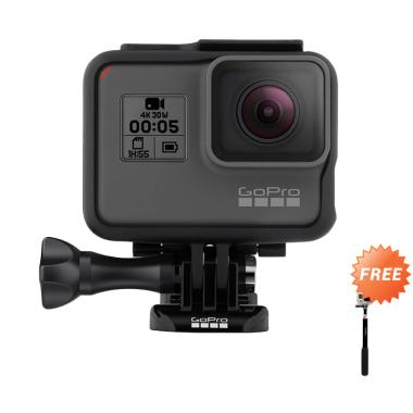 GoPro HERO 5 Action Kamera - Black  ... P] + Free Monopod Attanta