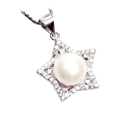 Royale Jewel  WGP 113C Kalung Perak ... White Gold Sterling Chain