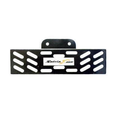 harga RajaMotor Tutup Radiator Plat Suzuki Satria F150 - Hitam - Aksesoris Motor - Variasi Motor - PROMO ONLINE Blibli.com