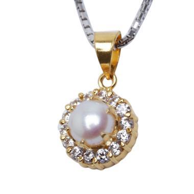 Royale Jewel WGP 094C Kalung Perak  ... White Gold Sterling Chain