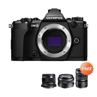 OMD EM5 MARK II Kamera Mirrorless - ...  + M Zuiko Lens 45mm F1.8