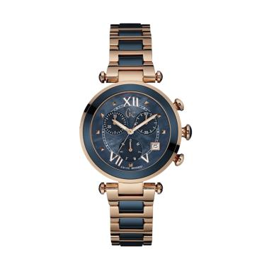 Guess Collection Gc Ladychic Chrono ... an Unisex Y05009M7 - Gold