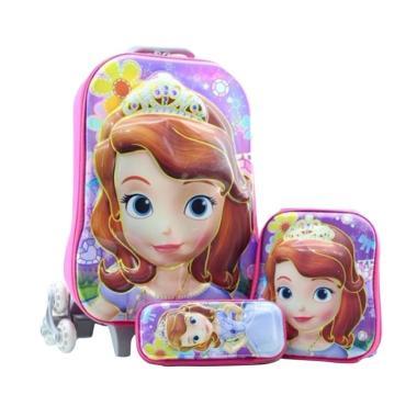 Bravery Disney Frozen Elsa Muka Tim ... [Troley T/Backpack/Pouch]